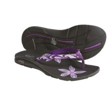Chaco Flip Out EcoTread Sandals - Recycled Materials, Flip-Flops (For Women) in Swirl - Closeouts