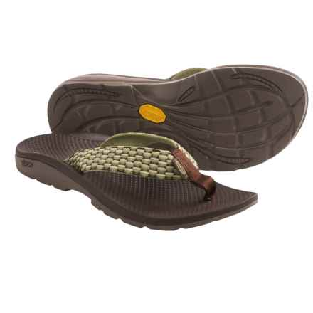 Chaco Flip Vibe Flip-Flops (For Women) in Lily Pad - Closeouts