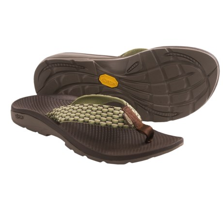 Chaco Flip Vibe Flip-Flops (For Women) in Lily Pad