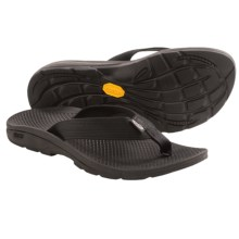 Chaco Flip Vibe Sandals - Flip-Flops (For Women) in Black - Closeouts