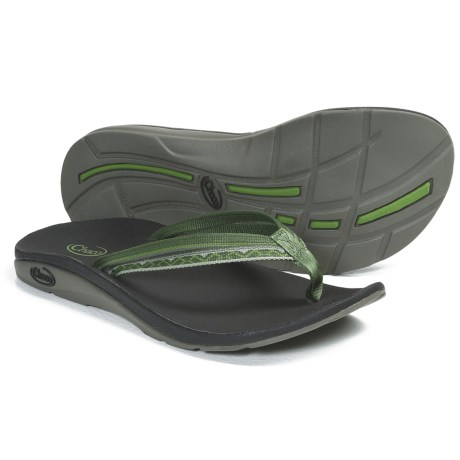 Chaco Flip X EcoTread Sandals - Recycled Materials, Flip-Flops (For Women) in Garden Gate