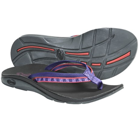 Chaco Flip X EcoTread Sandals - Recycled Materials, Flip-Flops (For Women) in Rebel