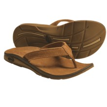 Chaco Flippa EcoTread Thong Sandals - Flip-Flops, Leather, Recycled Materials (For Women) in Suned - Closeouts