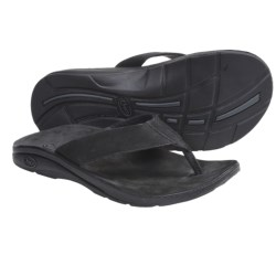 Chaco Flippin Brewhaha EcoTread Sandals - Flip-Flops (For Men) in Black