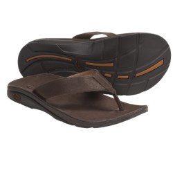Chaco Flippin Brewhaha EcoTread Sandals - Flip-Flops (For Men) in Leather Brown
