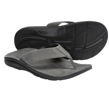 Chaco Flippin Brewhaha EcoTread Sandals - Flip-Flops (For Men) in Gunmetal