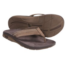 Chaco Flippin Chill Ecotread Thong Sandals - Flip-Flops, Recycled Materials (For Men) in Nutmeg - Closeouts