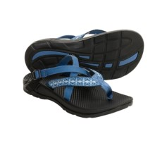 Chaco Hipthong EcoTread Sandals - Recycled Materials, Flip-Flops (For Women) in Ceramic Blue - Closeouts