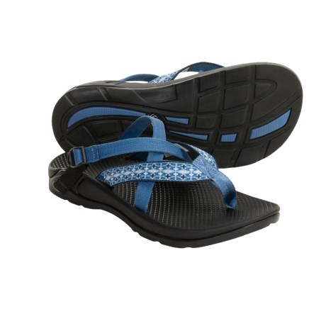 Chaco Hipthong EcoTread Sandals - Recycled Materials, Flip-Flops (For Women) in Ceramic Blue