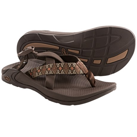 Chaco Hipthong Two EcoTread Sport Sandals (For Men) in Diamond Eyes Dash