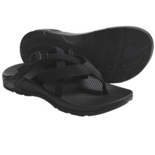 Chaco Hipthong Two EcoTread Sport Sandals (For Women) in Black - Closeouts