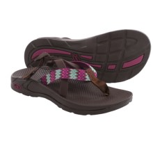 Chaco Hipthong Two Ecotread Sport Sandals (For Women) in Woven - Closeouts