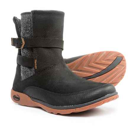 Chaco Hopi Boots - Leather (For Women) in Black - Closeouts