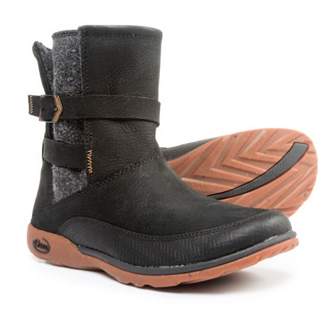 Chaco Hopi Boots - Leather (For Women) in Black