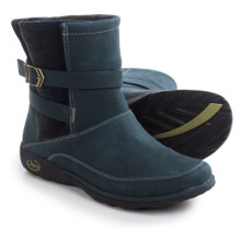 Chaco Hopi Boots - Leather (For Women) in Blue Steel - Closeouts