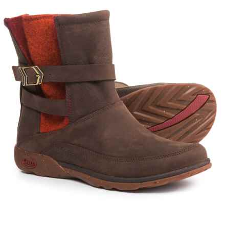 Chaco Hopi Boots - Leather (For Women) in Brick Red - Closeouts