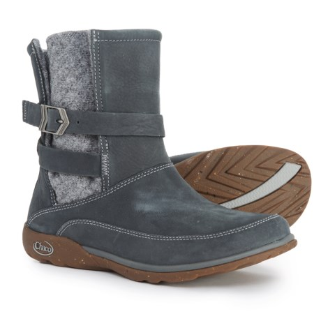 Chaco Hopi Boots - Leather (For Women) in Castlerock