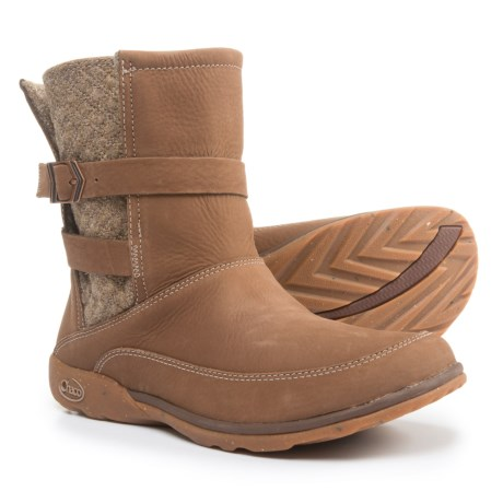 Chaco Hopi Boots - Leather (For Women) in Fawn