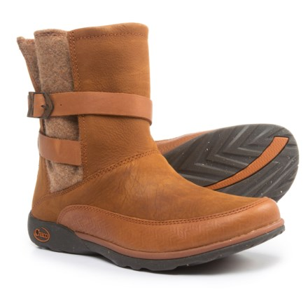283d4d882dc0 Chaco Hopi Boots - Leather (For Women) in Rust - Closeouts