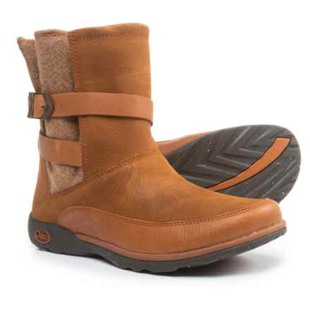 Chaco Hopi Boots - Leather (For Women) in Rust - Closeouts