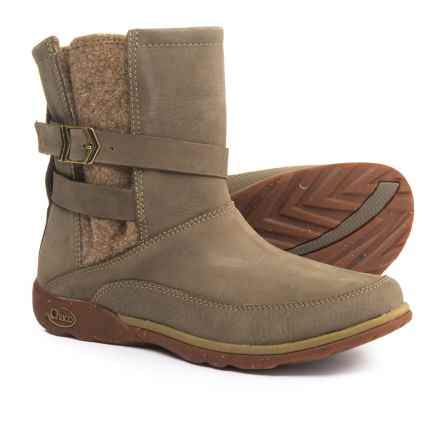 Chaco Hopi Boots - Leather (For Women) in Sandstone - Closeouts
