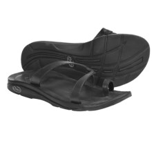 Chaco Indigen Sandals - Leather (For Women) in Black - Closeouts