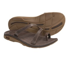 Chaco Indigen Sandals - Leather (For Women) in Chocolate Brown - Closeouts