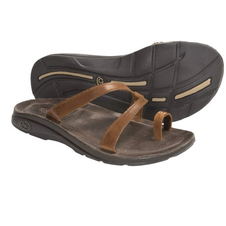 Chaco Indigen Sandals - Leather (For Women) in Chocolate Brown