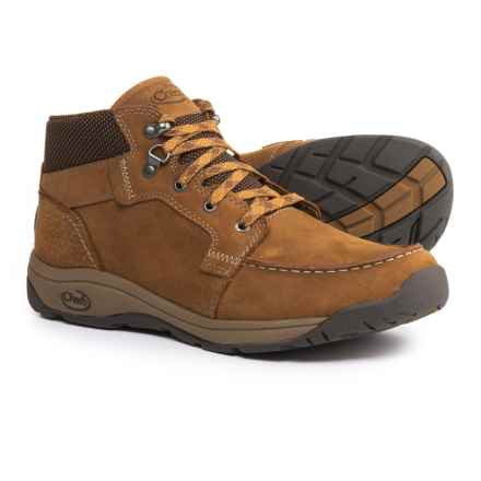 Chaco Jaeger Chukka Boots - Leather (For Men) in Bronze Brown - Closeouts