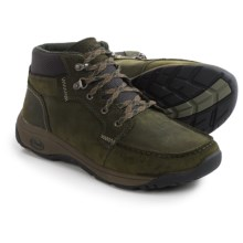 Chaco Jaeger Chukka Boots - Leather (For Men) in Dusty Olive - Closeouts