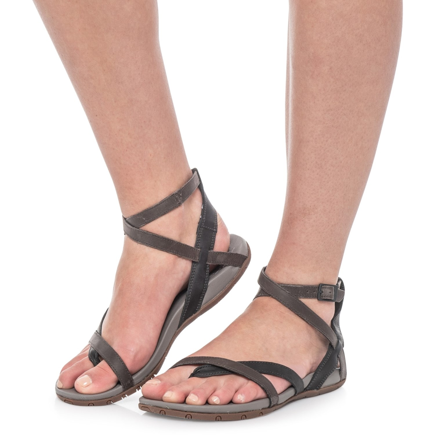 d18b74b915 Chaco Juniper Sandals - Leather (For Women) in Black ...