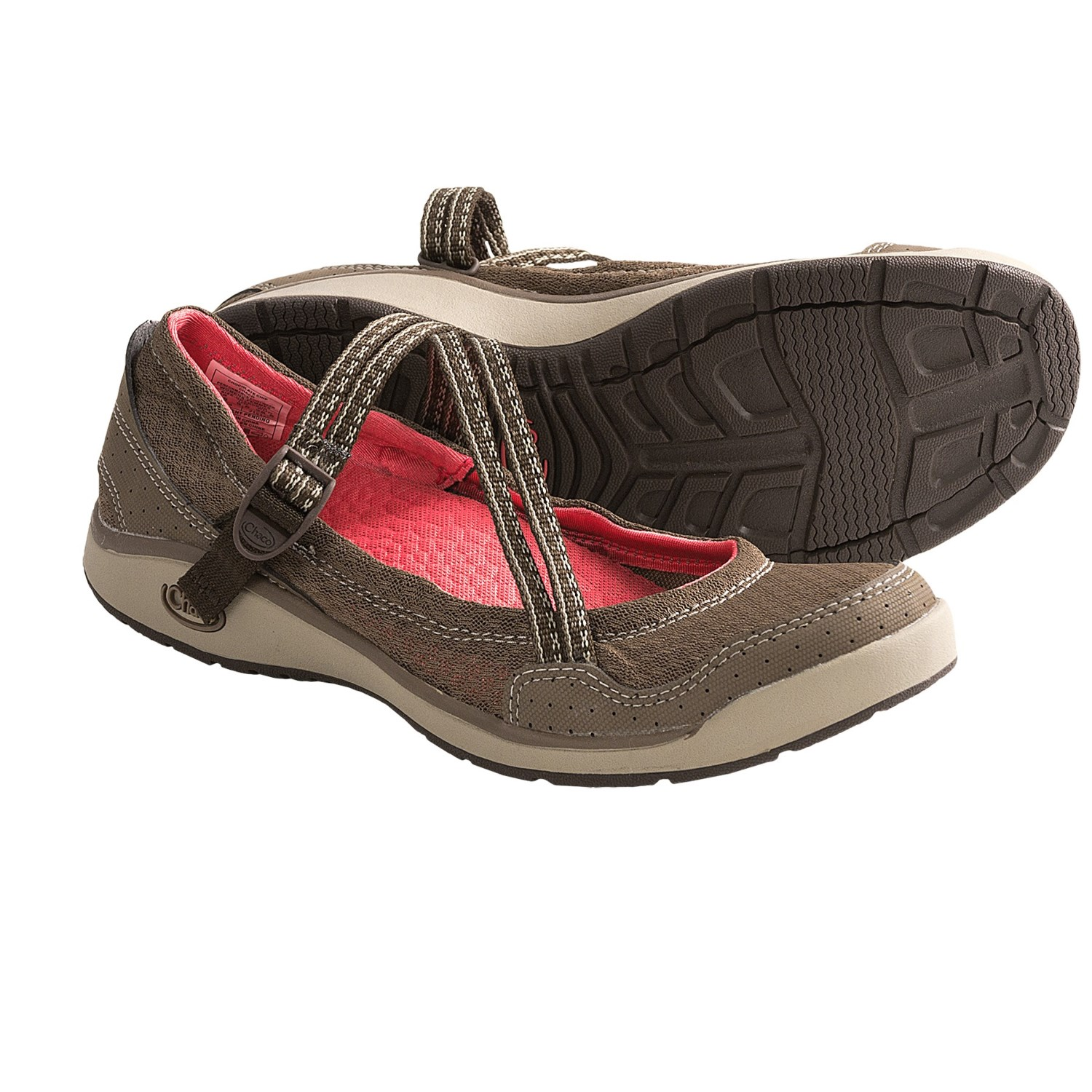 Chaco Keel Mary Jane Shoes (For Women) in Chocolate Chip