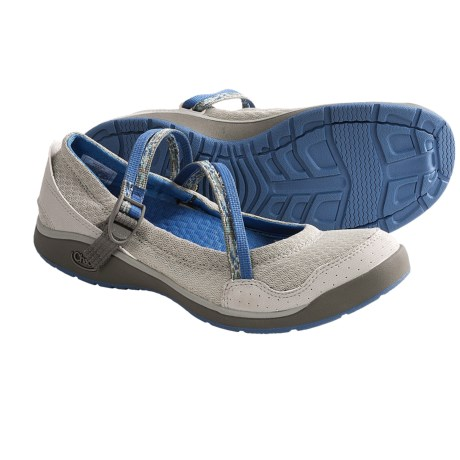 Chaco Keel Mary Jane Shoes (For Women) in Vapor Grey