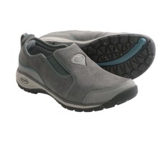 Chaco Kendry Shoes - Suede, Slip-Ons (For Women) in Gunmetal - Closeouts