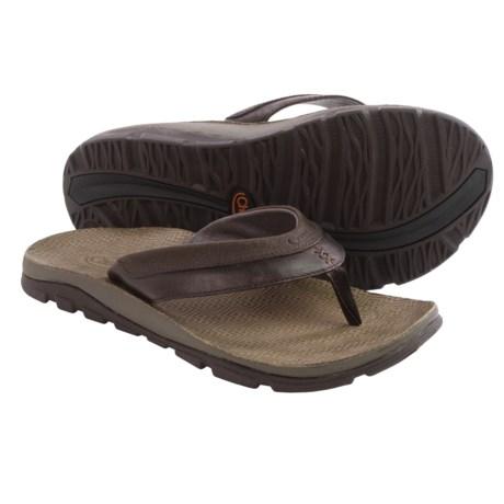 Chaco Kirkwood Flip Flops Leather (For Men)