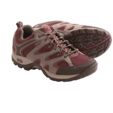 Chaco Layna Hiking Shoes - Waterproof (For Women) in Cabernet - Closeouts