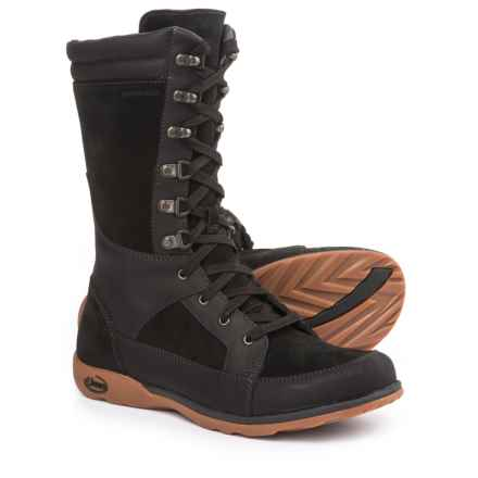 Chaco Lodge Boots - Waterproof, Leather (For Women) in Black - Closeouts