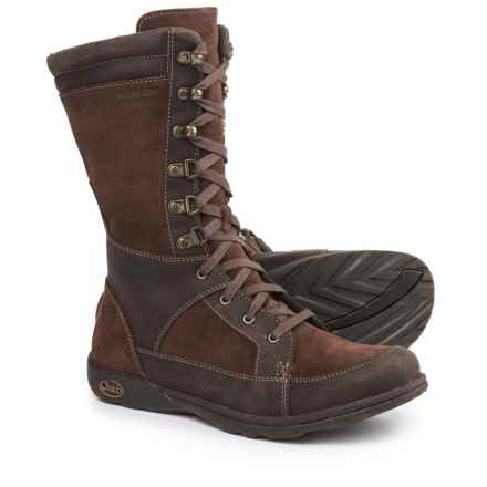 Chaco Lodge Boots - Waterproof, Leather (For Women) in Pinecone Brown - Closeouts