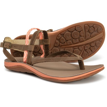 bfec71aba2ec Chaco Loveland Sandals - Leather (For Women) in Peach