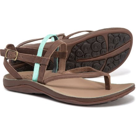 a42802052 Chaco Loveland Strappy Sandals - Leather (For Women) in Heather Opal