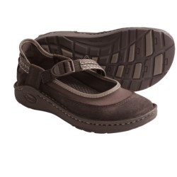 Chaco Loyalist EcoTread Mary Jane Shoes (For Girls) in Chocolate Brown