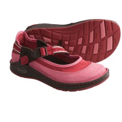 Chaco Loyalist EcoTread Mary Jane Shoes (For Girls) in Olivine