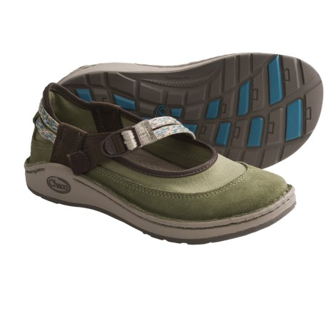 Chaco Loyalist EcoTread Mary Jane Shoes (For Youth Girls) in Rose/Red