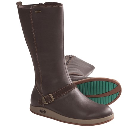 Chaco Mara Boots - Waterproof, Leather (For Women) in Chocolate Brown