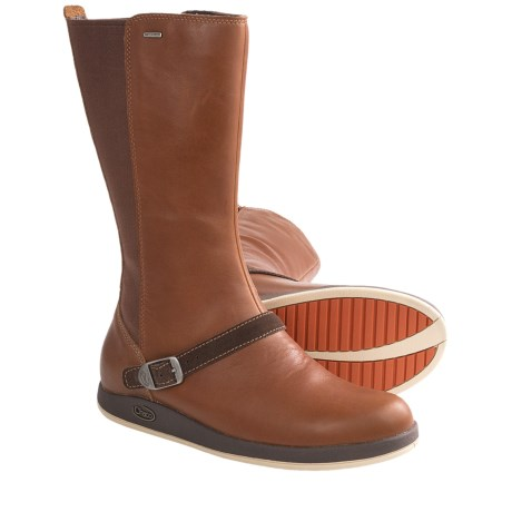 Chaco Mara Boots - Waterproof, Leather (For Women) in Mocha Bisque