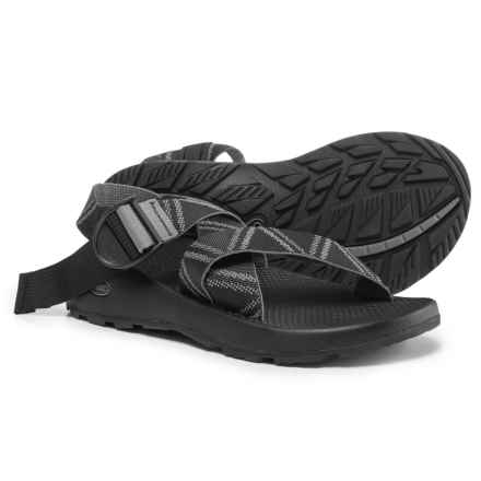 Chaco Mega Z Classic Sport Sandals (For Men) in Glitch Black - Closeouts