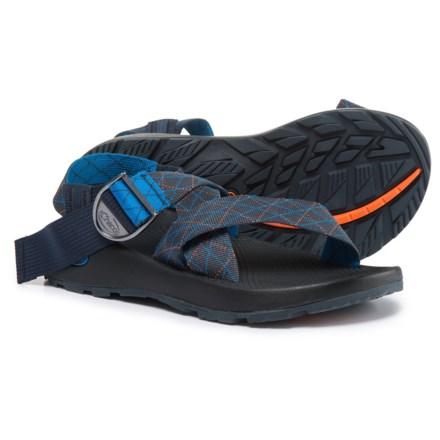 4c01d7cb6f1 Chaco Mega Z Classic Sport Sandals (For Men) in Rhombus Blue - Closeouts