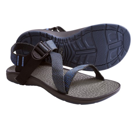 Chaco Mighty Sandals (For Men) in Deep Dive Red