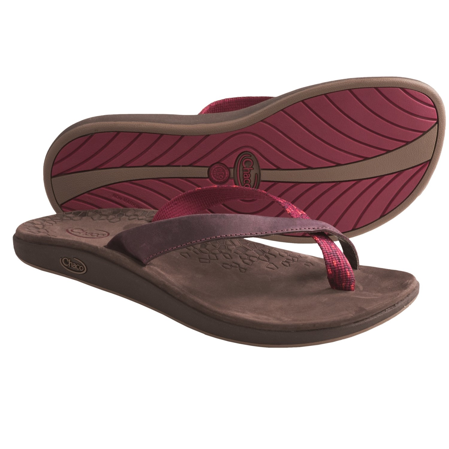 Popular  Chaco Sandals Zong X EcoTread Sandal Women39s 6 BC W US Multi Red