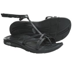 Chaco Native Ecotread Sandals - Leather (For Women) in Black